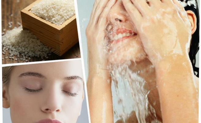 limpieza agua de arroz