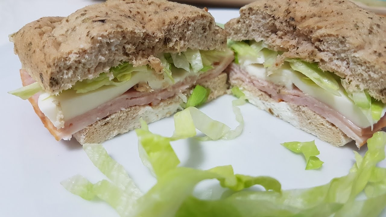 sándwiches sin carbohidratos