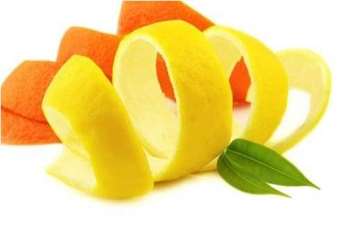 naranja para el mal olor