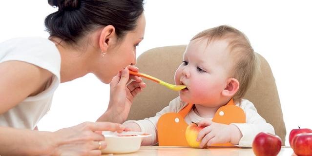 alimentos sólidos para bebe