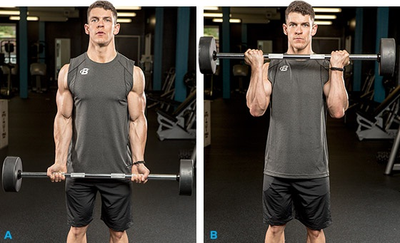 ejercicios para aumentar los bíceps