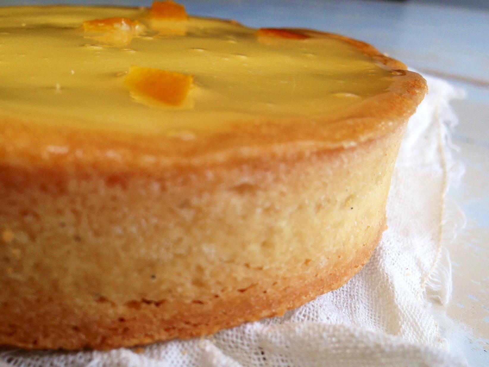 tarta de naranja y limón
