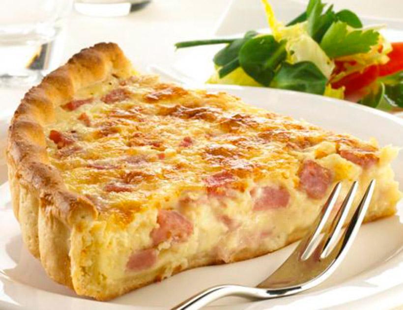 Torta de queso salada
