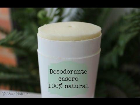 Como hacer desodorante natural