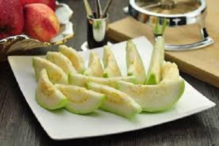 pepino con guayaba