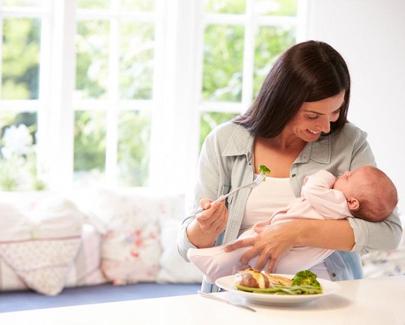 alimentación post-parto