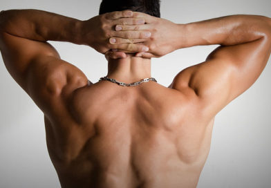 espalda tonificada