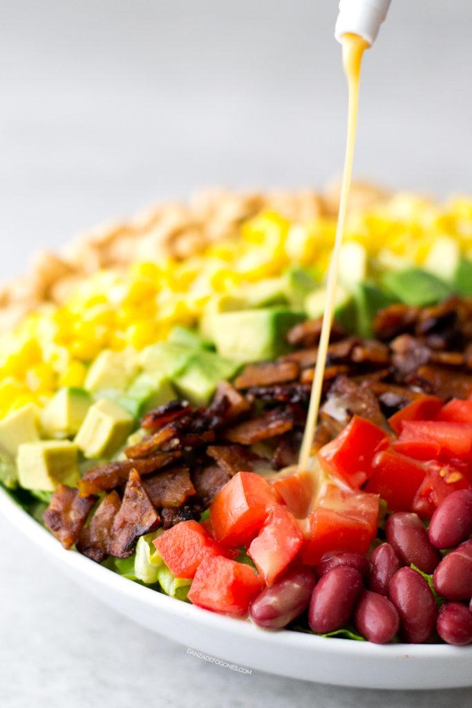 ensaladas veganas
