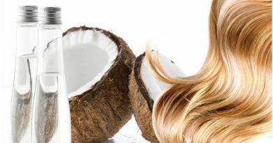 aceite de coco y romero