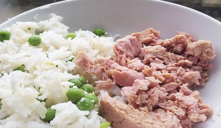 arroz con atún