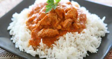 arroz con chile dulce