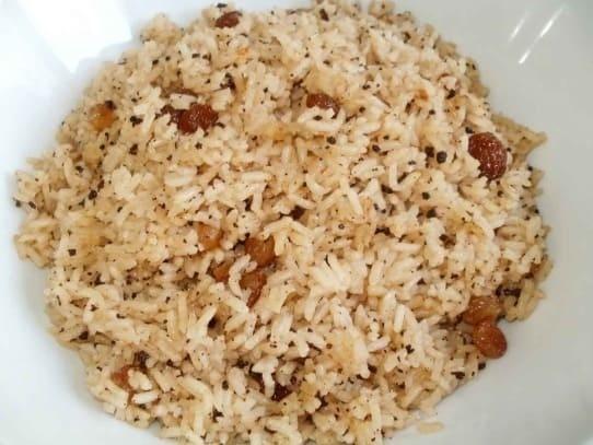 arroz con coco