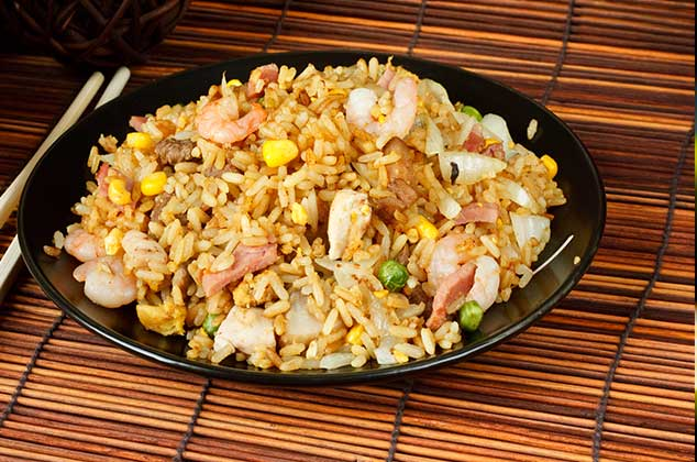 arroz frito oriental