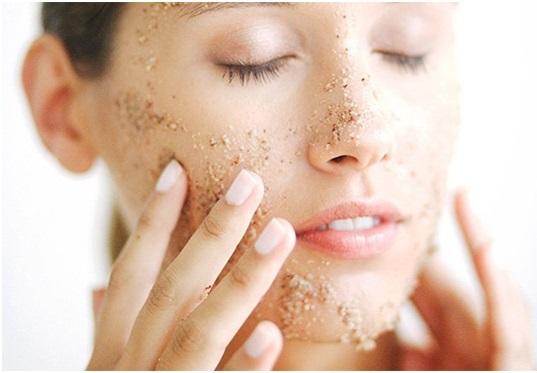 exfoliantes para la piel seca