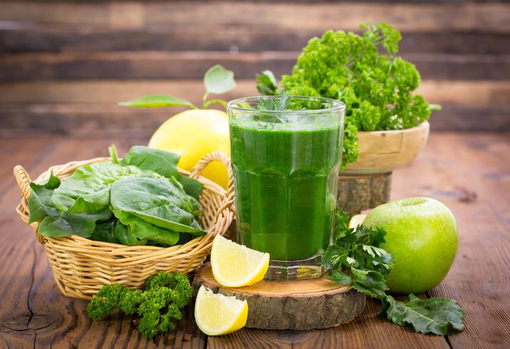 Las mejores combinaciones de jugo verde