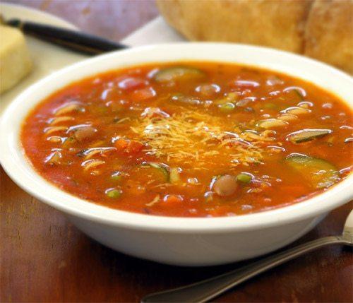 sopa minestrones