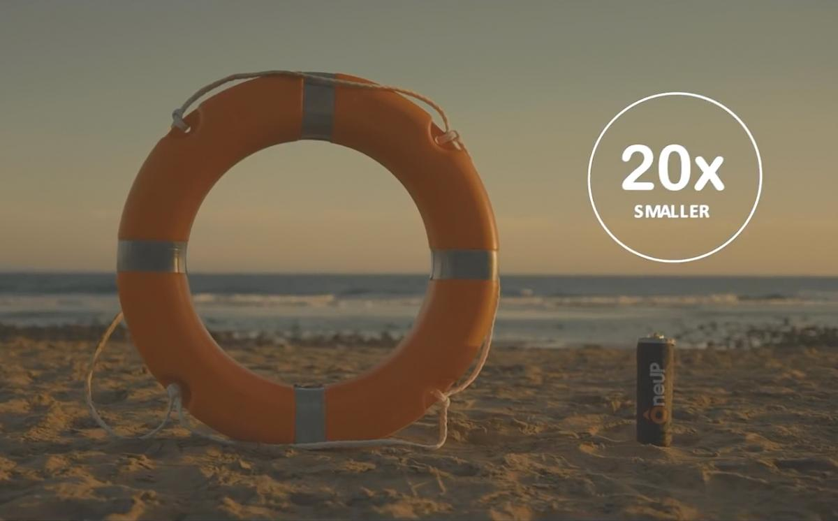 Conoce OneUP, el salvavidas que puede salvar tu vida