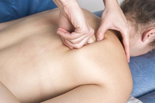 masaje para aliviar el dolor