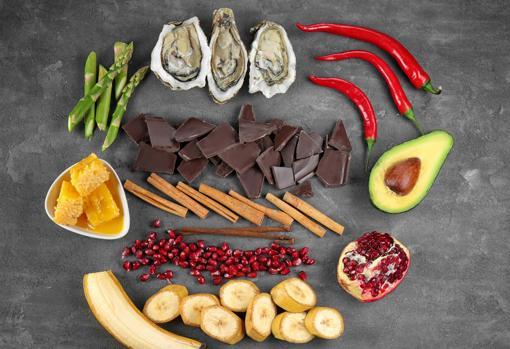 Alimentos que potencian el vigor sexual
