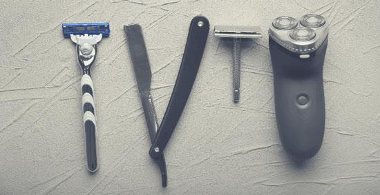 Tipos de afeitadoras para la cabeza