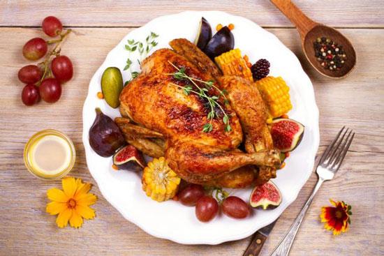 ¿Pollo al horno o frito? ¿Cuál es más saludable?