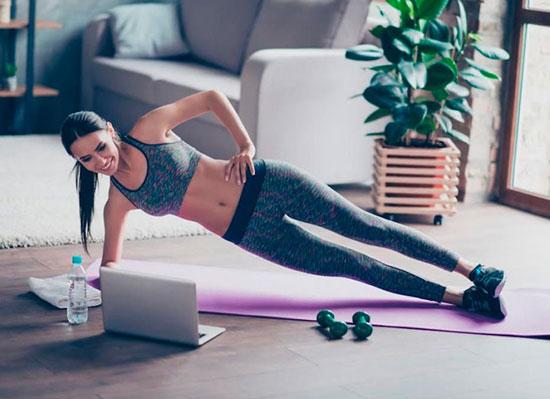 5 ejercicios saludables para hacer en casa